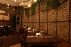 La Jungle vintage de notre restaurant.