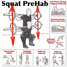 Squat PreHab for those that have a serious intent when training.   Learn more at https://www.facebook.com/Michael.Rosengart.CSCS/posts/895543147179337   #squat  For more tips and techniques, visit www.prehabexercises.com  #prehab #keepgettingbetter #buildingathletes #preparetoperform