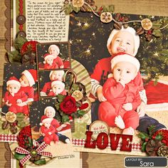 Sweet Shoppe Designs :: 1 Page Layout Templates :: Cindy's Layered Templates - Half Pack 60: Photo Focus 22 by Cindy Schneider