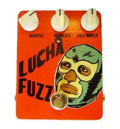 El Rey Effects Lucha Fuzz Guitar Pedal