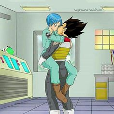 Vegeta and Bulma Umm yes. This is now Canon. Dragon Ball Z, Dragon Z, Dragon Images, Dragon Pictures, Cool Pictures, Mahal Kita, Dbz Vegeta, Familia Anime, Couple Cartoon