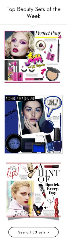 """Top Beauty Sets of the Week"" by polyvore ❤ liked on Polyvore featuring beauty, Cover FX, Barry M, Original, jem, statementlip, Lord & Berry, Anya Hindmarch, OPI and RGB"