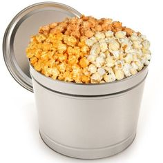 Triple Cheddar Popcorn Tin - 1 Gallon - http://mygourmetgifts.com/triple-cheddar-popcorn-tin-1-gallon/
