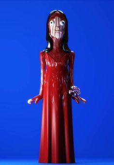La gente del estudio inglés Evil Corp sorprende con estos originales muñecos diseñados en sus cuarteles los cuales hacen referencia a conocidos personajes del cine y la ficción de una alucinante manera.