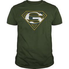 Green Bay Packers Superman Logo Shirt