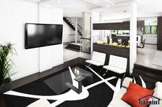 Designer, Zen / Contemporain | LAP0528 | Maison Laprise - Maisons pré-usinées Prefabricated Houses, House Architecture, House 2, Model Homes, Beautiful Sunset, Foyer, Decks, Contemporary Design, Design Design