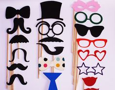 Photo booth props / Wedding photo booth prop / di NYEngravings