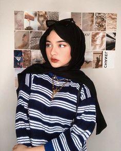 Modest Fashion Hijab, Modern Hijab Fashion, Street Hijab Fashion, Casual Hijab Outfit, Arab Fashion, Hijab Fashion Inspiration, Muslim Fashion, Fashion Outfits, Hijabi Girl