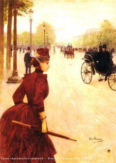 Champs Elysees -  Jean-Georges Béraud