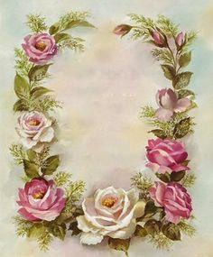 Decora con Flores: Laminas de rosas para decoupage y decoracion 02