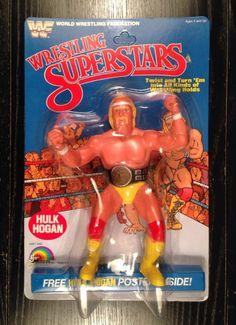 hulk hogan action figure vintage