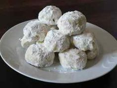 SUGAR COOKIE RECIPE  KOURABIETHES