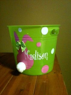 Hey, I found this really awesome Etsy listing at https://www.etsy.com/listing/70995305/easter-bucket