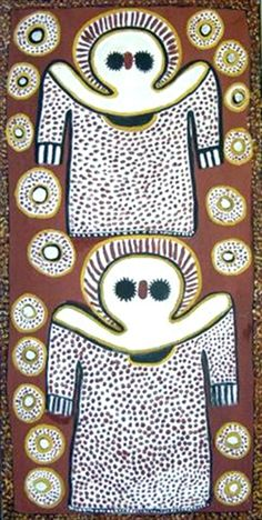 Lily Karadada ~ Wandjina, 2002