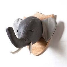 Elephant Wall Mount now featured on Fab.
