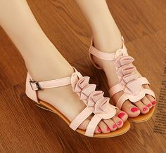 Roman Style Flat Sandals Shoes