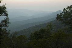 Amicola Falls Georgia State Park Mountain