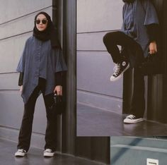 Trendy how to wear converse with jeans outfit style ideas Source by outfits hijab Modern Hijab Fashion, Street Hijab Fashion, Hijab Fashion Inspiration, Muslim Fashion, Casual Hijab Outfit, Hijab Chic, Casual Outfits, Fashion Outfits, Mode Hijab
