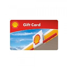 With this gift card you get paid back 5% for purchasing gas at Shell™