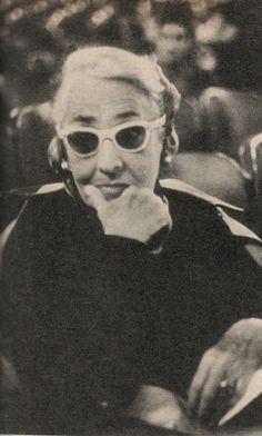 Writer Victoria Ocampo. Buenos Aires