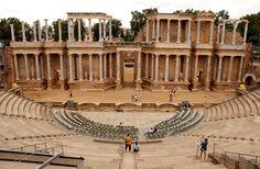 Archaeological Roman Ensemble of Mérida (Emerita Augusta), Extremadura, Spain.