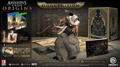 Assassin's Creed Origins Gods Collector's Edition: Bayek statue, themed packaging, art book, world map & soundtrack: http://amzn.to/2sksbzG