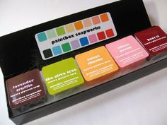 The Paintbox - Luxury Glycerin Soap Custom Sample Collection. $6.00, via Etsy.