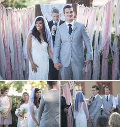 Whimsical Romantic Wedding: Marissa + Michael