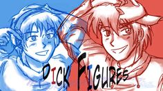 Dick Figures Wallpaper (version one) by Midori-chan-Mi-chan.deviantart.com on @DeviantArt