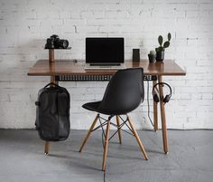 Artifox have introduced Desk 02, a new version of their beautiful and functional work desk. The minimalist desk is made from quality materials (hardwood and steel) and packed with function while maintaining a clean, simple aesthetic. It comes with a