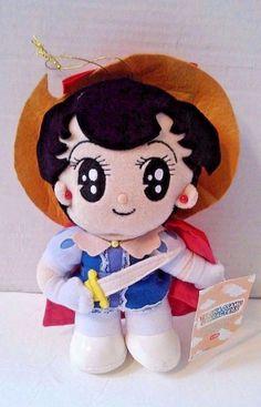 Princess Knight Tezuka Osamu Characters Plush Sega 2004 Anime
