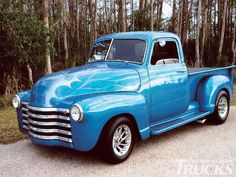 Custom Classic Trucks Readers Rides 1948 Chevy Half Ton  Yeah buddy!  Gimme one of these with a crate 350 ,TH400 tranny , A/C full interior and a good sound system.