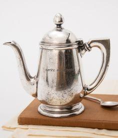 Vintage Hotel Onondaga, NY Teapot by Janny Dangerous