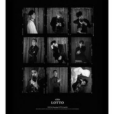 EXO Autograph Lotto CD+Photobook Korean & Chinese Version