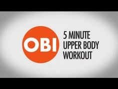 Obi Obadike 5-Minute Upper Body Workout on OWNZONES - YouTube