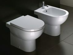 Catalano SFERA 54 Floor Mount - Inwall Suite Set $1,099 bathroomdirect.co.nz. Dimensions: 350W x 540D. Products Details: White ceramic Includes soft close seat with stainless steel hinges S or P trap installation. 4 Star WELS Rating (3/4.5 ltr flush, can be increased to 6.3 litres). Requires concealed cistern and flush panel. Complete with Speedo Inwall Cistern. 85mm total cistern thickness; fits within 90mm wall cavity. Height from centre of flush pipe to top of cistern; max 900mm  min…