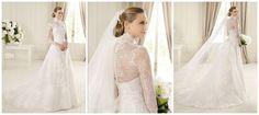 chiffon wedding dress with long sleeves - Google Search