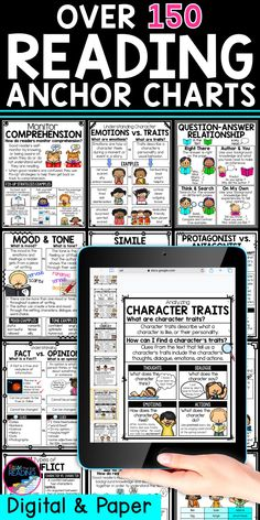 Reading Comprehension Posters, Reading Strategies Posters, Reading Posters, Classroom Word Wall, Google Classroom, Third Grade Reading, Second Grade, Reading Anchor Charts, Reading Intervention