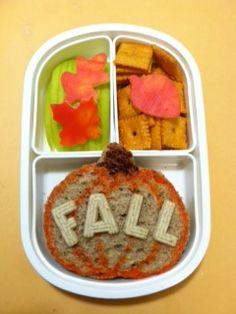 Fall Bento