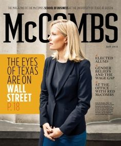 The best of the best - Faculty at McCombs School of Business ranked #1 in research productivity