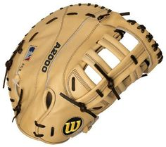 """Wilson Prostock A2000 1613 12.25-Inch First Baseman's Baseball Glove (Left Hand Throw) by Wilson. $189.13. The Wilson WTA2800 1613-BL is a tan 12.25"""" Reinforced Single Post Web first baseman's glove for a right handed player. Save 24% Off!"""