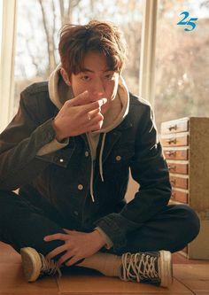 — 180120 Introducing the most handsome man in the world. Nam Joo Hyuk Cute, Nam Joo Hyuk Wallpaper, Jong Hyuk, Joon Hyung, Park Bogum, Ahn Hyo Seop, Nam Joohyuk, Handsome Korean Actors, Lee Sung Kyung