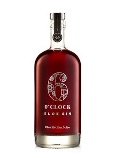 6 O'clock Sloe Gin is made in small batches using hand-picked, wild, hedgerow sloes. The intense fruit flavour of this traditional classic is achieved by using a high sloe to gin ratio, plenty of sugar, then patiently and slowly maturing for at least 6 months.