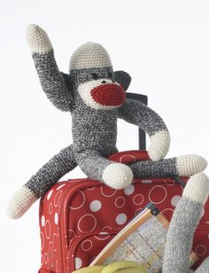Basic Crochet Sock Monkey | Yarn | Free Knitting Patterns | Crochet Patterns | Yarnspirations