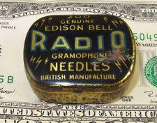 EDISON BELL  RADIO  GRAMOPHONE  PHONOGRAPH  NADELDOSE NEEDLE TIN ENGLAND #283