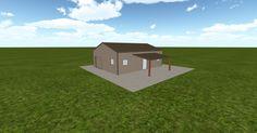 3D #architecture via @themuellerinc http://ift.tt/2fjlZ53 #barn #workshop #greenhouse #garage #DIY