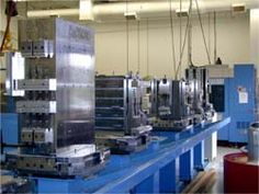 Kurt Product: Kurt Vise/Tombstone Machine: 630mm HMC Customer: Machine Equipment Manufacturer Comment: 9 pallet FMS, all Kurt Workholding, DL640 and 6XLPT Vises for large variety of work pieces. - http://www.kurtworkholding.com/custom/hmc.php
