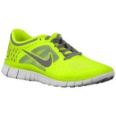 Nike Free Run + 3 - Women's - Running - Shoes - Black/Stadium Green/Fireberry/Pure Platinum
