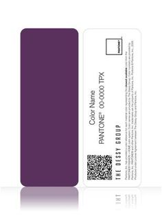 African violet- Perfect Wedding Colors! PANTONE WEDDING Chiplette Swatches