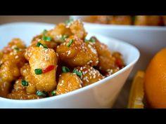 Pollo a la Naranja Orange Chicken Recipe l Kwan Homsai Chicken Recipes video recipe Thai Chicken Fried Rice, Chicken Teriyaki Recipe, Chicken Recipes, Asian Recipes, Healthy Recipes, Ethnic Recipes, Pollo Thai, Pak Choi, China Food